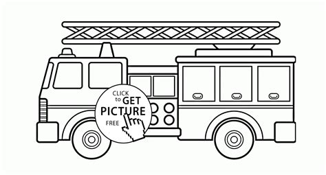 fire truck coloring page pdf beautiful fire truck coloring page for kids