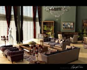 Ralph Lauren Drapes Classic And Retro Style Living Rooms