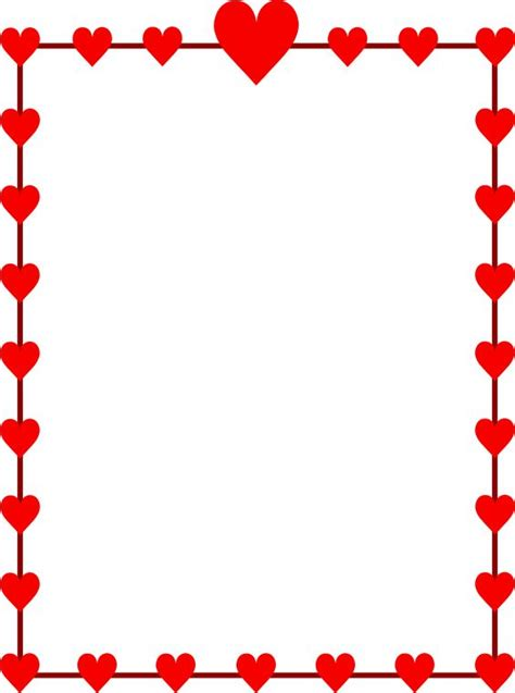 valentines day borders clip valentines day borders clip 101 clip