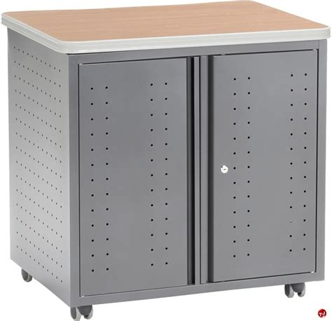 mobile storage cabinet with doors the office leader mobile 2 shelf storage cabinet with doors
