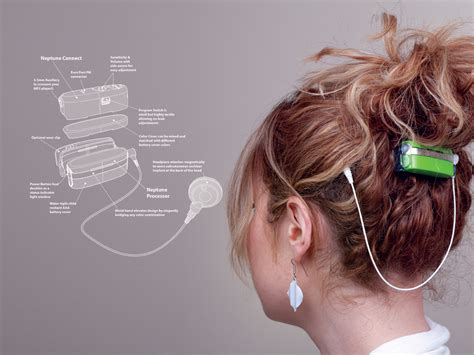Designapplause advanced bionics neptune waterproof cochlea implant processor