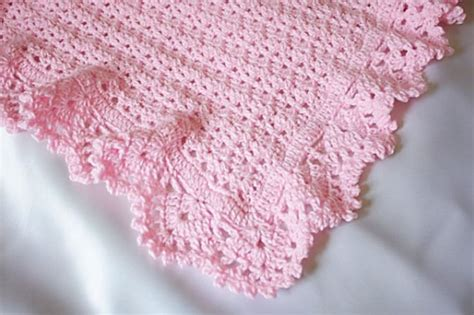 Ravelry Baby Blanket Patterns by Peacock Shells Baby Afghan Crochet Pattern Ravelry