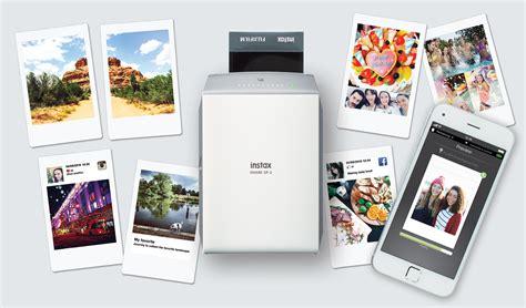 Printer Foto Polaroid photo printers fuji sp 2 vs hp sprocket vs polaroid zip time