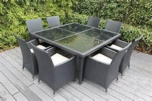 Ohana Patio Furniture by Ohana Outdoor Patio Wicker Furniture Square 9pc All