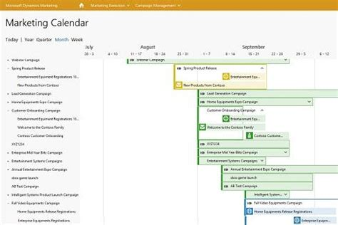 Calendars For Sale Microsoft Crm Releases Give Sales Marketing Veto Power