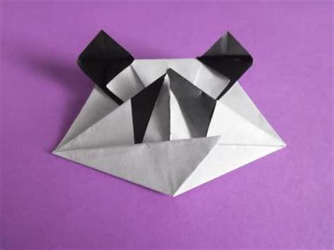 Origami Panda - make an origami panda