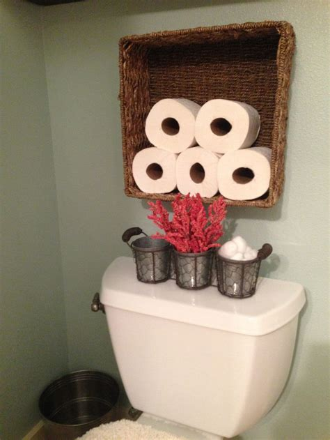 bathroom toilet paper holder ideas best 25 toilet paper storage ideas on bathroom storage diy half bathroom remodel
