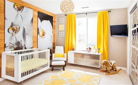 The Way To Brighten Up A Room With Yellow Curtains Yellow Curtains Nursery