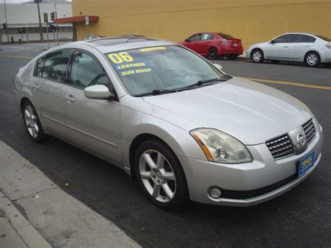 used 2006 nissan maxima 3 5 se at magic auto center nuys