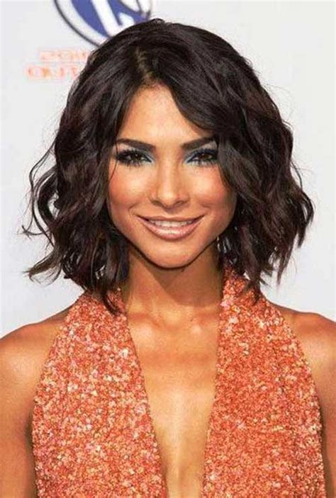 haircut bob wavy hair 15 short haircuts for thick wavy hair short hairstyles