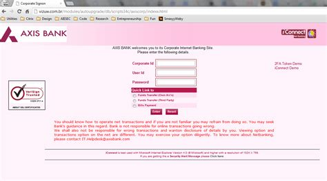 axs bank axis bank corporate banking codname outbreak pc