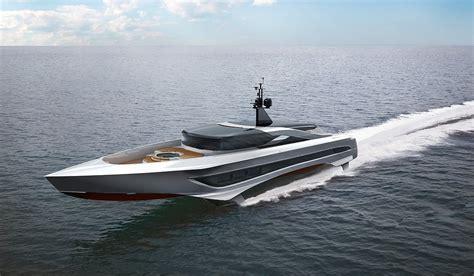 hydrofoil boat design foiling superyacht concept unveiled by skripnik design