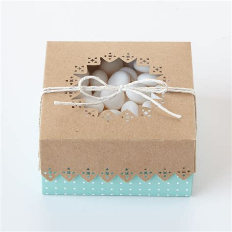martha stewart wedding favors do it yourself 2 wedding favor box with cutout details martha stewart