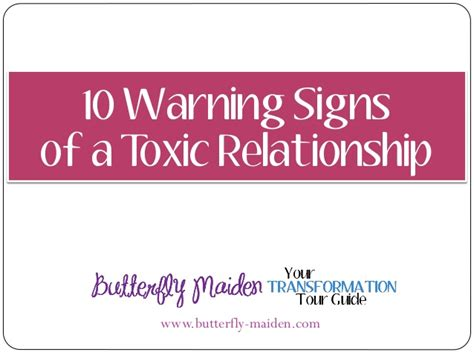 the s guide to eliminating toxic relationships books 10 warning signs of a toxic relationship