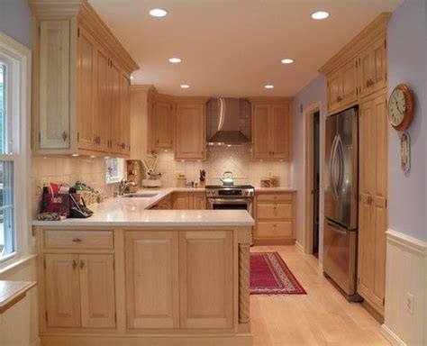 Light Maple Kitchen Maple Cabinets Light Countertop Dining Kitchen Pinterest