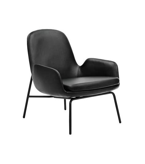 low chaise lounge era lounge chair low with steel legs normann copenhagen