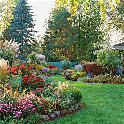 flower beds with rocks rustic flower beds with rocks in front of house ideas 38