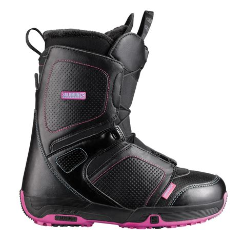 salomon pearl snowboard boots s 2014 evo outlet