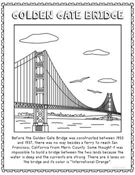 printable coloring pages golden gate bridge how to draw the golden gate bridge golden gate bridge