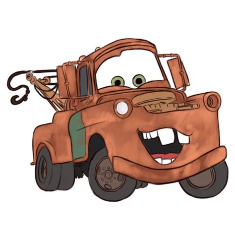 cars characters mater 25 best ideas about how to draw cars on pinterest car