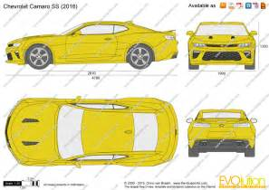 the blueprints vector drawing chevrolet camaro ss