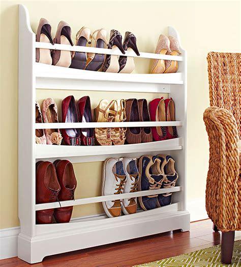slimline shoe storage ideas our simplest shoe organizing tricks