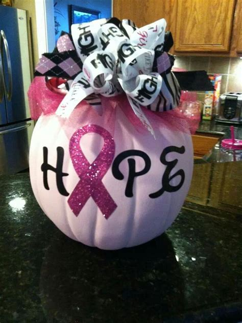 Pumpkin Decorating For Breast Cancer Awareness by Cancer Awareness Pumpkin Ideas