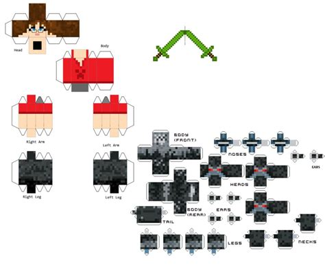 Papercraft Minecraft Skin - keith s papercraft skin by viredragon090 on deviantart