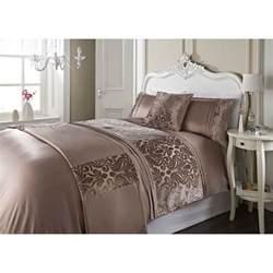 dallas damask velvet bed in a bag king size bedding b m