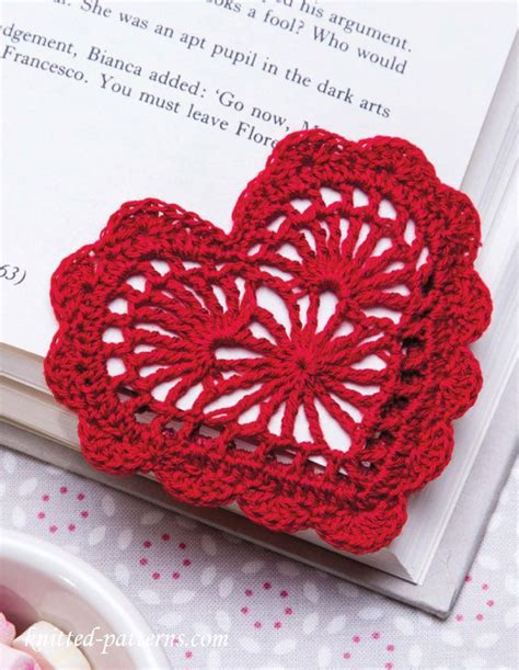 free crochet heart pattern video heart bookmark crochet pattern free crochet knitting
