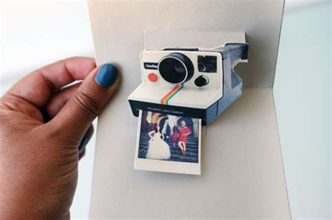 polaroid card template creative ways to upcycle photos