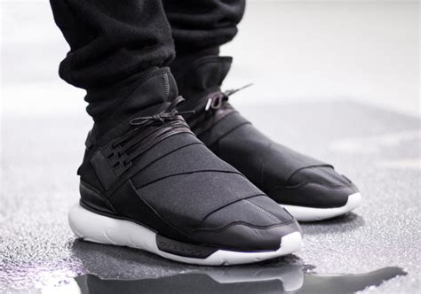 Adidas Y 3 Qasa High In Black more december heat the adidas y 3 qasa high in black