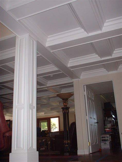 Styrofoam Coffered Ceiling Coffered Ceiling Layout Thisiscarpentry