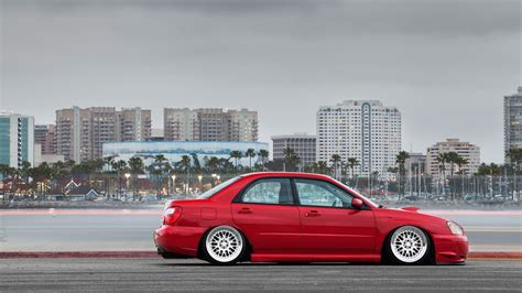 slammed subaru wallpaper cars tuning subaru impreza slammed wallpaper