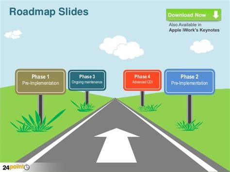 Roadmap Infographic Template Google Search Road Map Roadmap Presentation Powerpoint Template