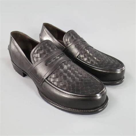 bottega veneta loafers bottega veneta s size 11 s black leather
