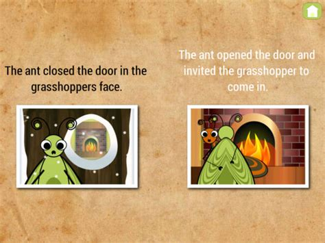 the ant and the grasshopper picture book app shopper ant and grasshopper book education