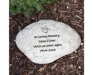 Memorial Garden Rocks Engraved Memorial Garden