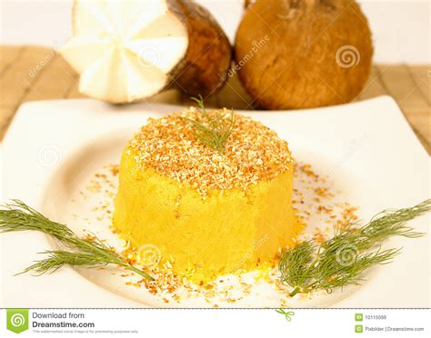 yucca carbohydrates yucca pie stock image image of cook cuisine dish