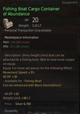 bdo fishing boat cargo container of abundance black desert imperial trading guide dulfy
