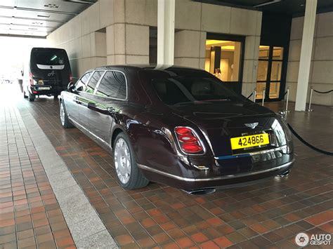 bentley mulsanne limo bentley mulsanne grand limousine 17 august 2016 autogespot