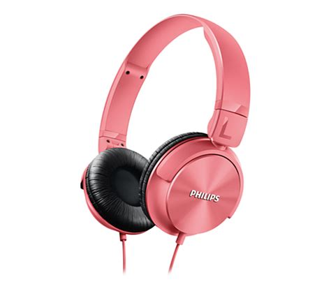 Philips X55p Pink Laptop by Headphones Shl3060pk 00 Philips
