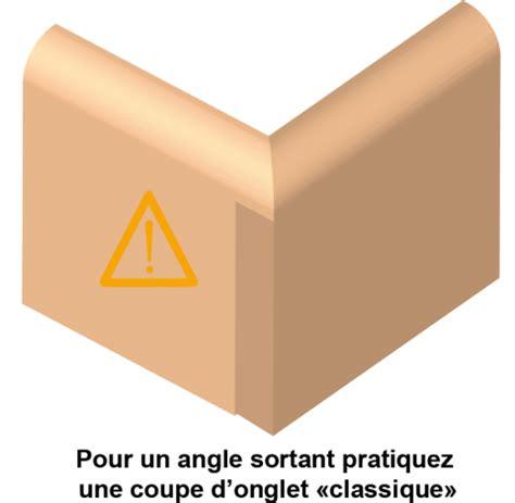 Couper Angle Plinthe by Plinthes Et Coupes D Onglet Bois Le Bouvet