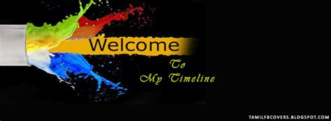 welcome cover my india fb covers welcome to my timeline welcome fb cover