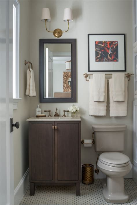 beige and gray bathroom vendome double sconce transitional bathroom benjamin