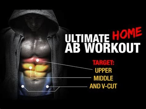 ultimate home ab workout upper middle   cut