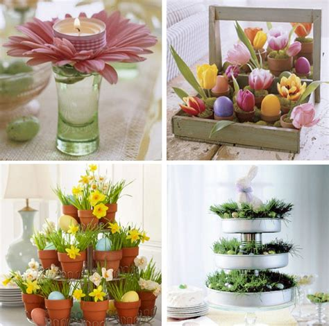 easter centerpiece ideas dining room creative easter table decoration ideas to
