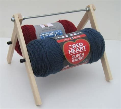 which is harder knitting or crocheting maple quot yarn caddy quot skein unwinder for knitting and