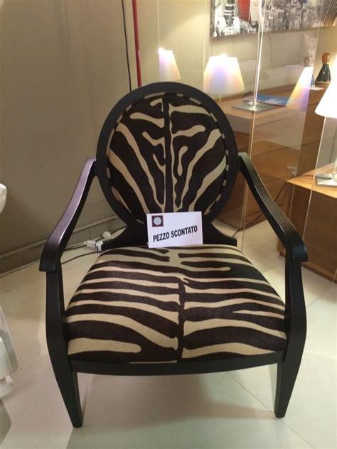 poltrone zebrate poltrona smania zebrata prezzo stracciato divani a