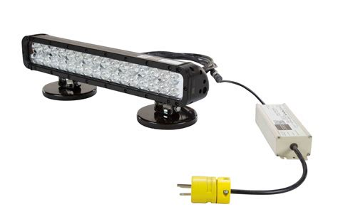 120 volt led light 110 volt infrared led light bar w magnetic bases
